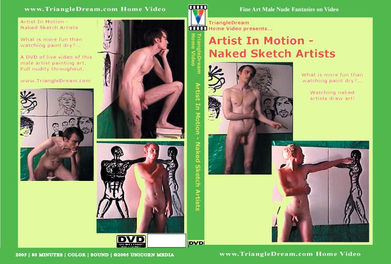 Artist In Motion - Naked Sketch Artists