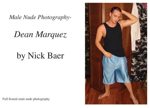 Nude Male Photo eBook Male Nude Photography- Dean Marquez 9781434826107