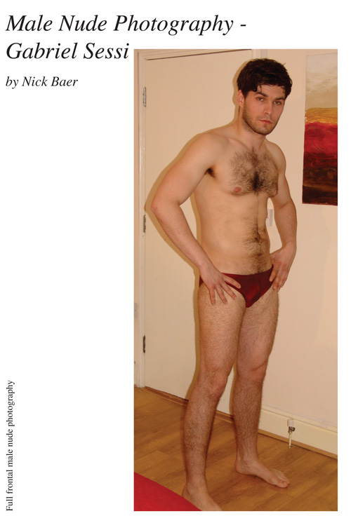 Male Nude Photography- Gabriel Sessi (7x10)