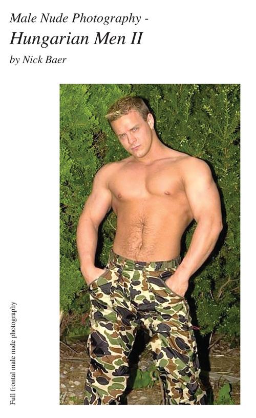 Nude Male Photo eBook Male Nude Photography- Hungarian Men II (7x10) Array