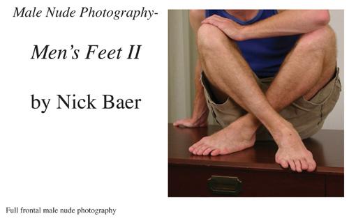 Nude Male Photo eBook Male Nude Photography- Men's Feet II 9781434827920