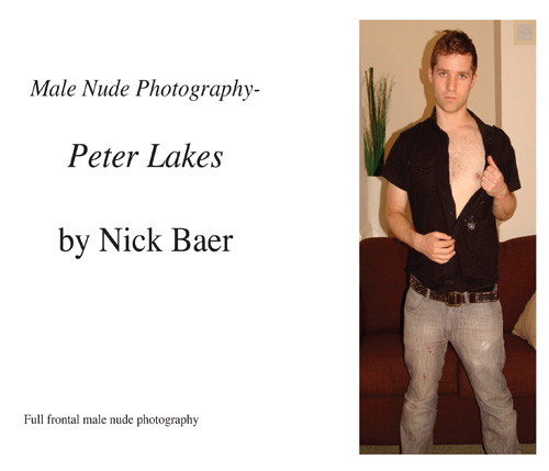 Male Nude Photography- Peter Lakes