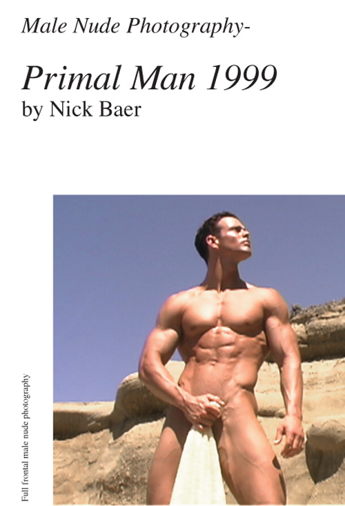 Nude Male Photo eBook Male Nude Photography- Primal Man 1999 (7x10) 9781452848075