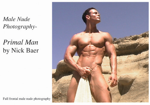 Nude Male Photo eBook Male Nude Photography- Primal Man 1999 9781434828354