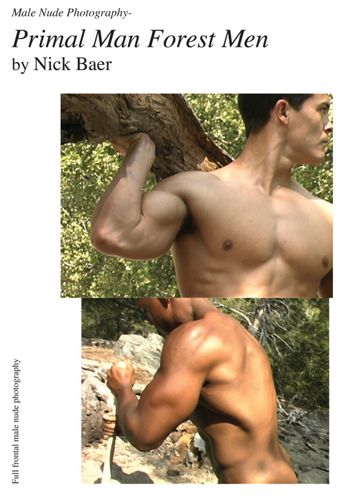 Nude Male Photo eBook Male Nude Photography- Primal Man Forest Men (7x10) 9781453766330