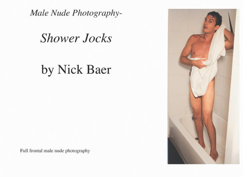 Nude Male Photo eBook Male Nude Photography- Shower Jocks 9781434821607