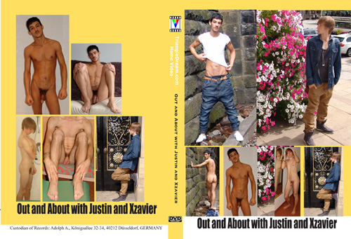 Nude Male erotic DVD Out And About With Justin And Xzavier
