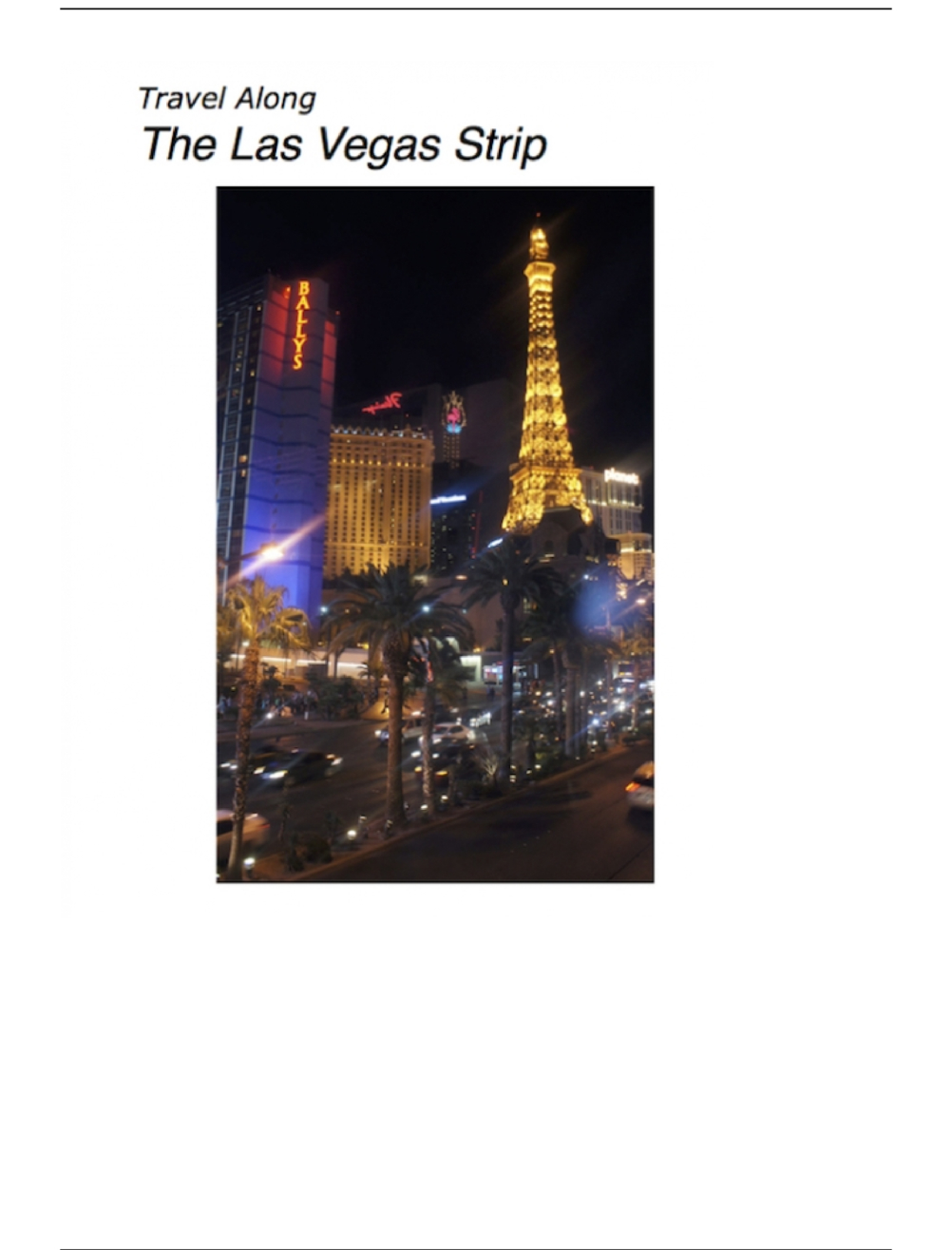 Nude Male Photo eBook Travel Along The Las Vegas Strip