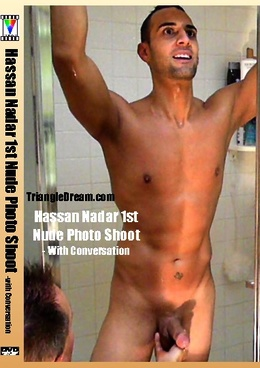 Hassan Nadar 1st Nude Photo Shoot- with Conversation