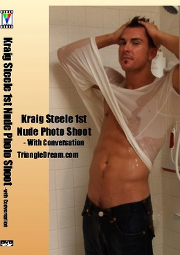 Kraig Steele 1st Nude Photo Shoot- with Conversation