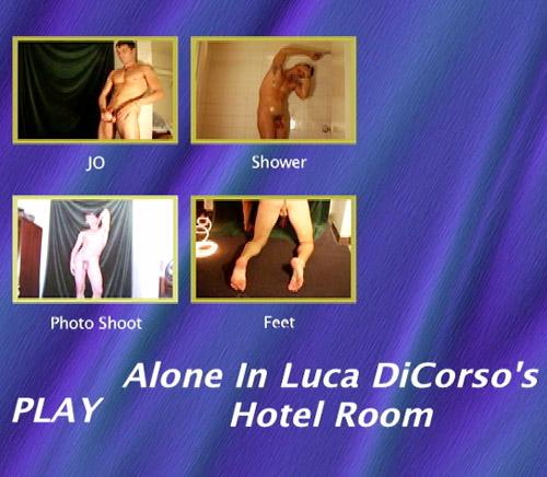 Alone-In-Luca-DiCorso's-Hotel-Room-gay-dvd