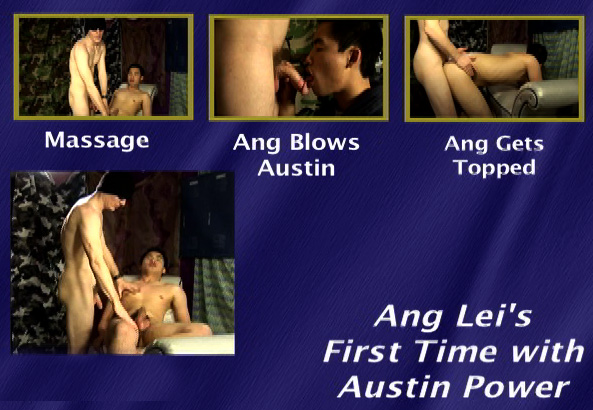 Ang Lei First Time with Austin Power-gay-dvd-menu