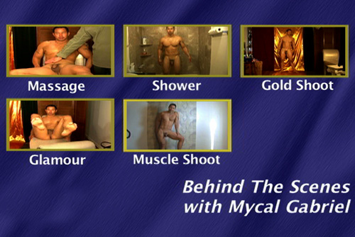 Behind The Scenes With Mycal Gabriel-gay-dvd-menu
