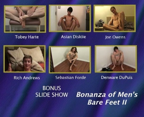 Bonanza-of-Men's-Bare-Feet-II-gay-dvd