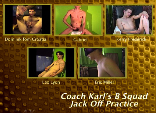 Coach-Karl's-B-Squad-Jack-Off-Practice-gay-dvd