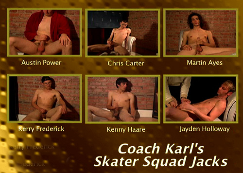 Coach-Karl's-Skater-Squad-Jacks-gay-dvd