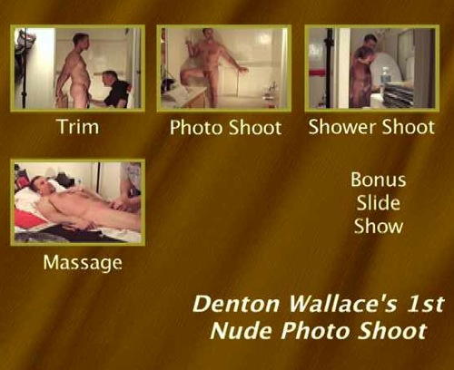 Denton-Wallace's-1st-Nude-Photo-Shoot-gay-dvd