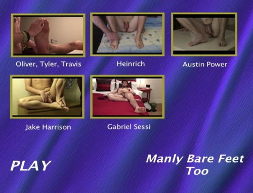 Manly-Bare-Feet-Too-gay-dvd