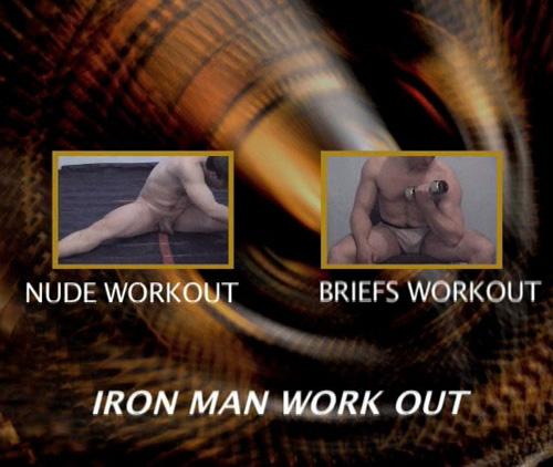 Primal-Man-Classics--Iron-Man-Nude-Workout-gay-dvd