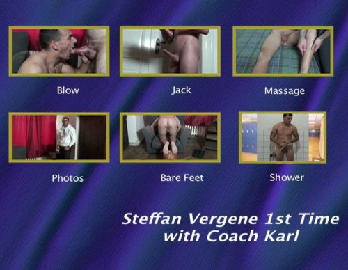 Steffan Vergene 1st Time with Coach Karl-gay-dvd-menu