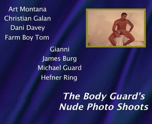 The-Body-Guards-Nude-Photo-Shoots-gay-dvd