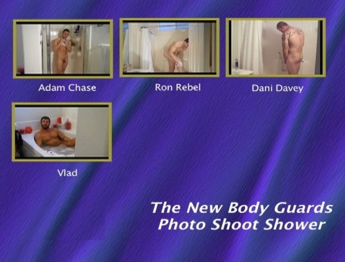The-New-Body-Guards-Photo-Shoot-Shower-gay-dvd