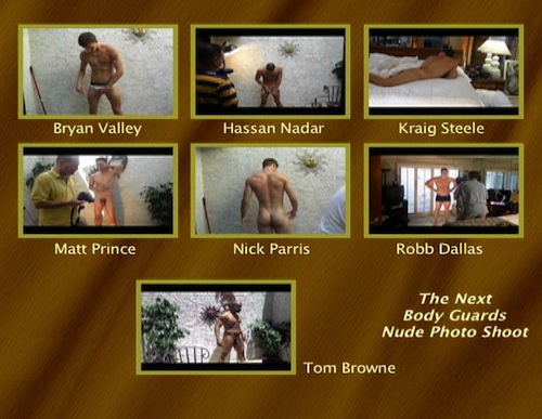The-Next-Body-Guards-Nude-Photo-Shoot--with-Conversation-gay-dvd