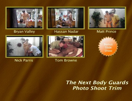 The-Next-Body-Guards-Photo-Shoot-Trim-gay-dvd