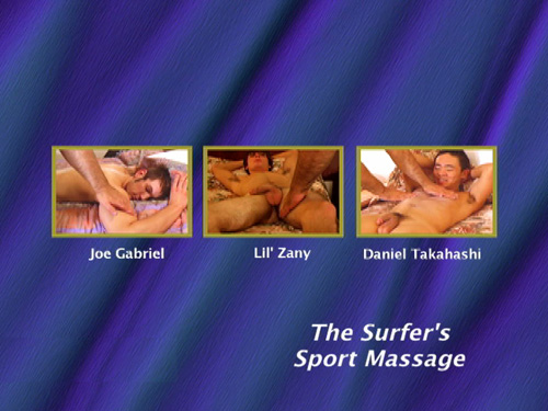 The-Surfer's-Sport-Massage-gay-dvd