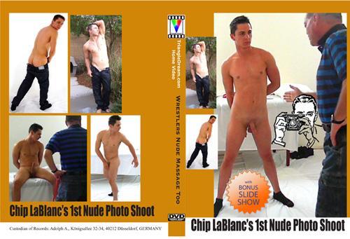 Las Vegas Dancer Chip LaBlanc's 1st nude photo shoot.
