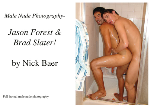 Intimate moments with adult film stars Jason Forest and Brad Slater at their ...