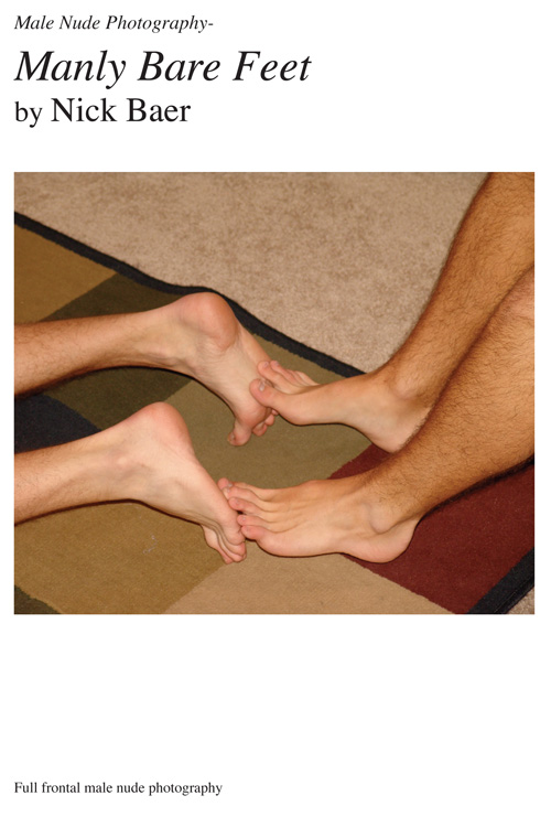 Male teen bare feet