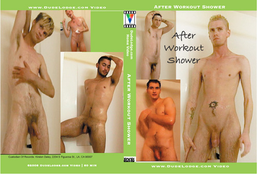 After Workout Shower-gay-dvd