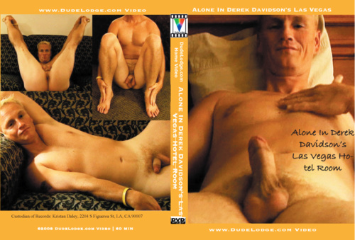 Alone In Derek Davidson's Las Vegas Hotel Room-gay-dvd