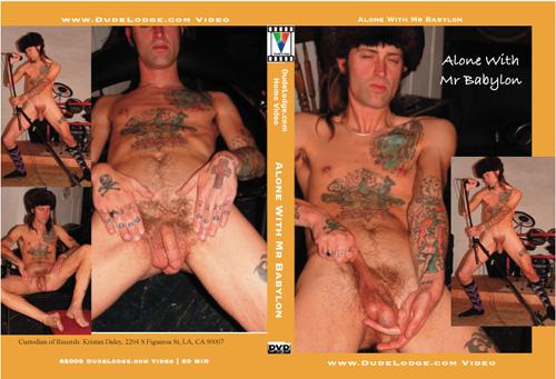 Alone With Mr Babylon-gay-dvd
