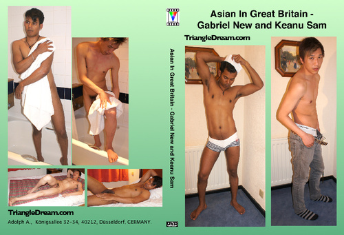 Asian In Great Britain - Gabriel New and Keanu Sam-gay-dvd