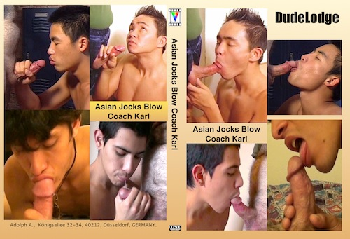 Asian Jocks Blow Coach Karl-gay-dvd