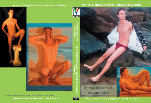 At The Beach With Deagan Birch-gay-dvd