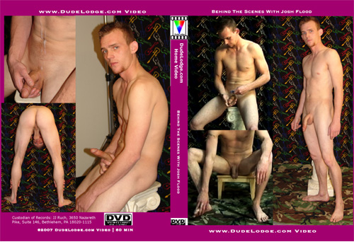 Behind The Scenes With Josh Flood-gay-dvd