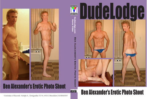 Ben Alexander's Erotic Photo Shoot-gay-dvd