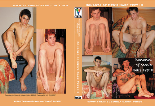 Bonanza of Men's Bare Feet III-gay-dvd