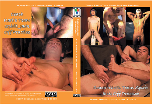 Coach Karl's Team Spirit Jack Off Practice-gay-dvd
