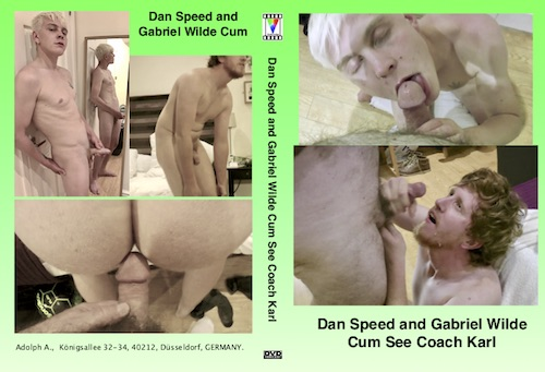 Dan Speed and Gabriel Wilde Cum See Coach Karl-gay-dvd