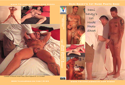 Dani Davey's 1st Nude Photo Shoot-gay-dvd
