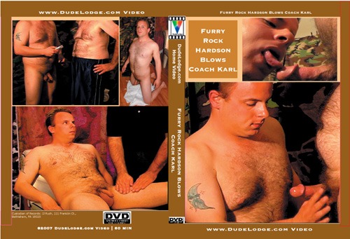 Furry Rock Hardson Blows Coach Karl-gay-dvd