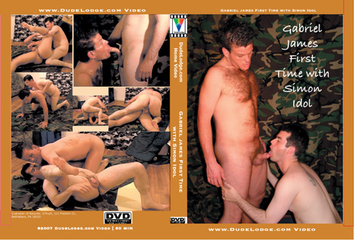 Gabriel James First Time with Simon Idol-gay-dvd