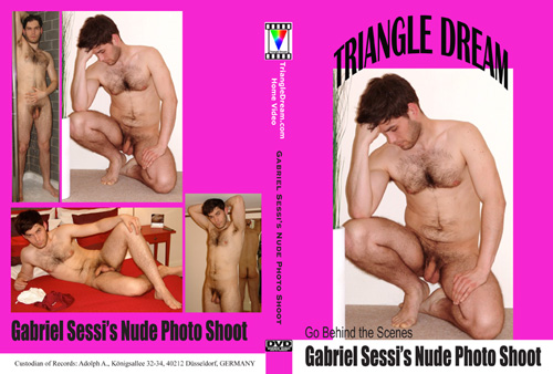 Gabriel Sessi's Nude Photo Shoot-gay-dvd