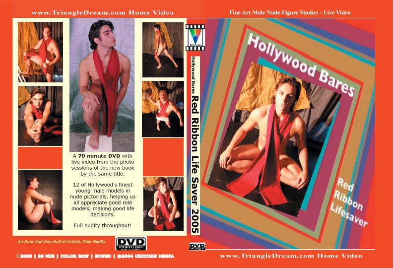 Hollywood Bares Red Ribbon-gay-dvd