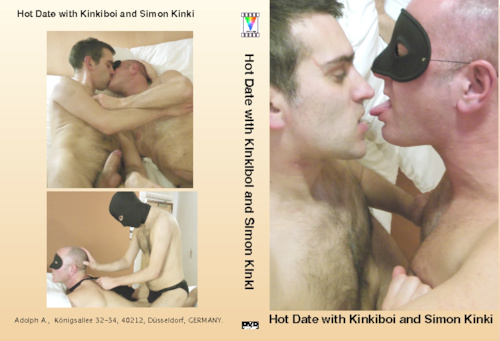 Hot Date with Kinkiboi and Simon Kinki-gay-dvd