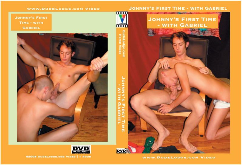 Johnny's First Time - with Gabriel-gay-dvd